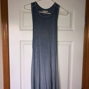 American Eagle Heather Blue shift dress